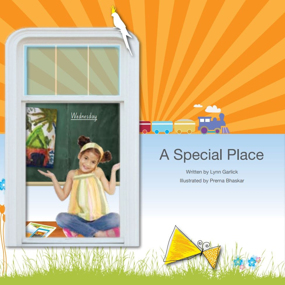 A special place storybook cover.